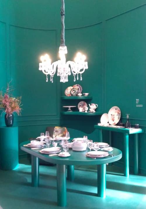 Maison et Objet Janvier 2020 ambiance bleu canard by Decoration et Jardins