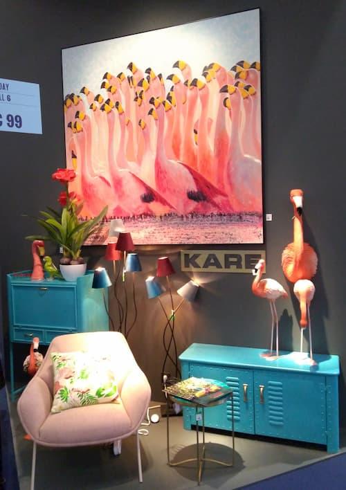 Maison et Objet Janvier 2020 ambiance flamant rose by Decoration et Jardins