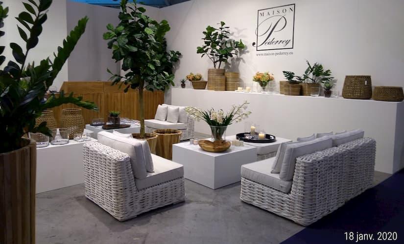 Maison et Objet Janvier 2020 ambiance raffinee salon exterieur by Decoration et Jardins conseils deco