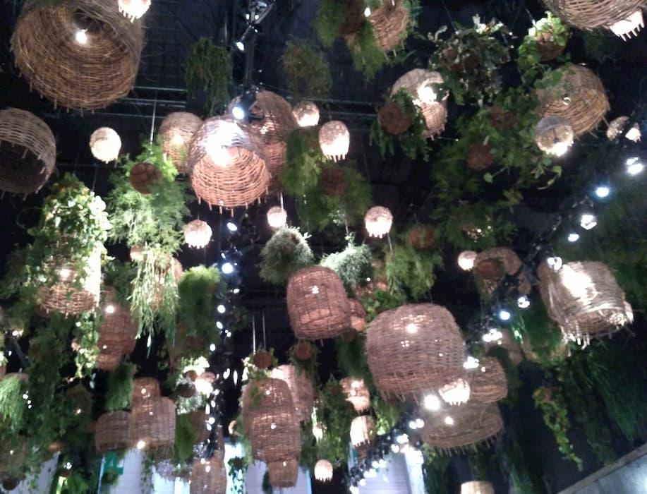 Maison et Objet Janvier 2020 luminaires vegetal by Decoration et Jardins