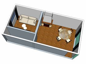 Vue 3D Home Staging by Décoration et Jardins