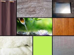 Planche Ambiance Création Salle de Massage by Decoration et Jardins