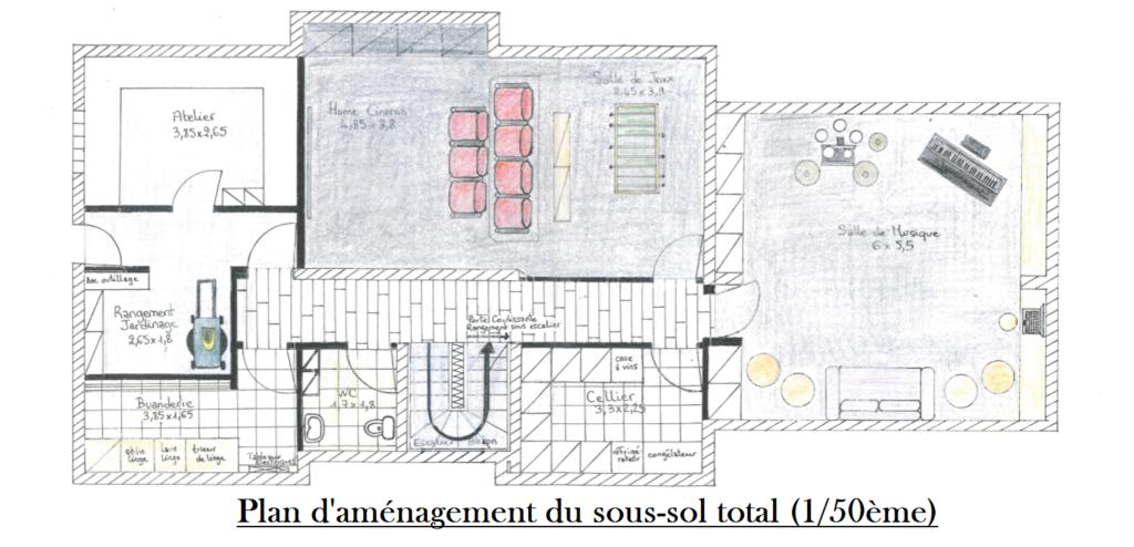 Aménagement sous-sol total by Décoration et Jardins